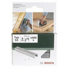 Bosch Type 53 FINE WIRE STAPLES (Pack of 1000) 2609255820 3165140392716
