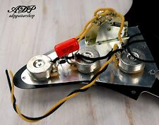 KIT CONTROLE ELECTRONIQUE VINTAGE CABLE pour guitares style STRATOCASTER WIRED