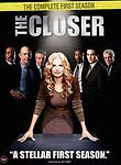 The Closer - The Complete First Season (DVD, 2006, 4-Discs)**SHIPS 1ST CLASS!***
