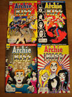 4x ARCHIE MEETS KISS 627 628 629 630 Stanley Simmons Criss Frehley 1st print