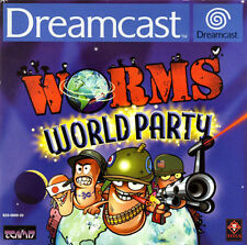 Worms World Party Sega Dreamcast