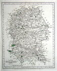 WILTSHIRE, John Cary Original Hand Coloured, Antique County Map 1787