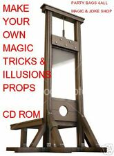 MAKE YOUR OWN MAGIC TRICKS, ILLUSIONS & PROPS PC CD-R **