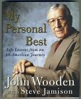 John Wooden My Personal Best autograph signed 1st edition book UCLA BRUINS