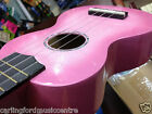 SOPRANO UKE Kit PINK SPARKLE MAHALO Champagne with Bag + CD WOW