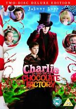 Charlie And The Chocolate Factory (DVD x 2)