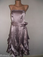 NEXT PINK SATIN MULTI WAY COCKTAIL DRESS SIZE12 NWT RRP£80