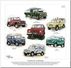 LAND ROVER 90 /110 /DEFENDER---CAR ART PRINT