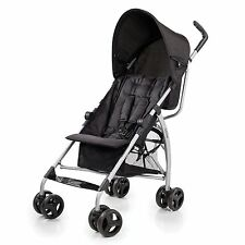 SUMMER INFANT GO LITE CONVENIENCE BABY STROLLER BLACK JACK NEW