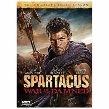 Spartacus: War of the Damned (DVD, 2013, 3-Disc Set)