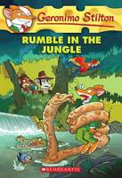 Rumble in the Jungle #53 by Geronimo Stilton (Paperback, 2013) NEW