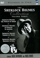 The Sherlock Holmes Collection - Vol. 3 (DVD, 2004, 4-Disc Set)