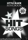 the LITTLE BLACK SONGBOOK HIT SONGS over 80 HITS! BOOK @ CarlingfordMUSIC