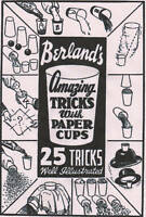 25 MAGIC TRICKS WITH PAPER CUPS Easy 2 Do Magic with everyday objects PC CD-R **