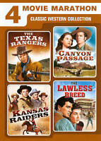4 Movie Marathon: Classic Western Collection DVD 2-Disc Set Gift Christmas NEW