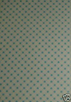 10 A5 SHEETS GINGHAM PAPER - BLUE - CARD MAKING