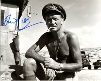 John Mills autographed war movie Ice Cold in Alex signed photo UACC Dealer