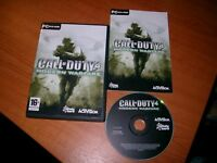 CALL OF DUTY 4 MODERN WARFARE SHOOTER PC-DVD V.G.C. FAST POST COMPLETE