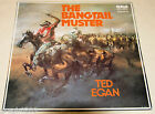 TED EGAN THE BANGTAIL MUSTER 33RPM VINYL RECORD-EXCELLENT AUTOGRAPHED