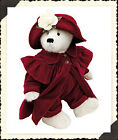 "Boyds MIB RET beautiful FRANCESCA LaFlame, 16"" in RED"