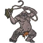 The Lord of the Rings Cave Troll Figure Die-Cut Patch