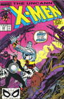 Marvel Comics Uncanny X-Men Comic #248, 1989 VERY FINE-