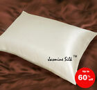 Jasmine Silk 100% Natural 19 Momme Charmeuse Silk Pillow case Ivory