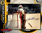 Gerry Cheevers SIGNED Bruins 8X10 Photo -70312
