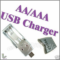 USB Charger Ni-MH AA / AAA Rechargeable Battery cell 3A