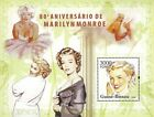 Guinea Bissau 2006 Stamp, Marilyn Monroe, Actress S/S