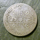 1683 KING CHARLES II BRITISH SILVER CROWN COIN