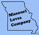 Missouri Loves Company Funny State Humor T-shirt Shirt