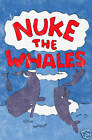 Nuke the Whales Simpsons T-shirt Funny Vintage