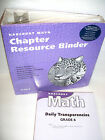 6th Grade 6 Harcourt Math LOT TEACHER'S RESOURCE TE NEW