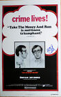 Woody Allen signed Take the Money and Run 11x17 poster / Actual photo proof Rare