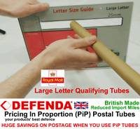 50 POSTAL TUBES PiP Large Letter Pricing In Proportion 350mm x 24mm Poster Print