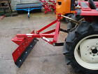 5ft SHOP SOILED SNOW PLOUGH FOR COMPACT TRACTOR / PUSH OR PULL