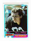 1981 TOPPS CARD # 200 TED HENDRICKS OLB RAIDERS ALL PRO