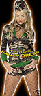 FANCY DRESS COSTUME # SEXY FEVER ARMY COMBAT CHICK SM