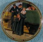 An Orphan's Hope Rockwell Collector Plate