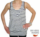 VERO MODA DAMEN  SHIRT VLATKA WRESTLING STRIPE LONG TOP