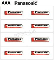 8 x AAA Size S Panasonic Zinc Carbon Batteries 1.5v R03 Battery For Control Toy