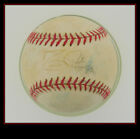 DAVID JUSTICE AUTOGRAPHED BASEBALL INDIANS BRAVES