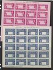 Liberia C68-69 full sheets of 20 imperforate no center