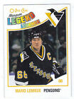 10-11 OPC O-Pee-Chee Mario Lemieux Marquee Legend #596 Mint