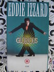 EDDIE IZZARD ~ GLORIOUS ~ AS NEW VHS BOXED VIDEO ~ FREE POST