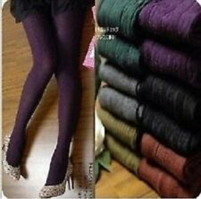 Ladies Winter Thick Tights one size - fashionable leg warmers