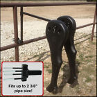 Team Roping High Point Heeler Plastic Legs Rope Rodeo Dummy Steer Fence Practice