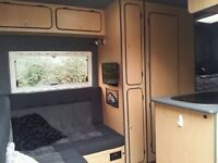 FIAT DUCATO/CITROEN RELAY/FORD TRANSIT CAMPER VAN INTERIOR FURNITURE KIT 4 berth