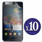 10 X Pack Clear LCD Screen Protector Gaurd Film For Samsung Galaxy S2 i9100